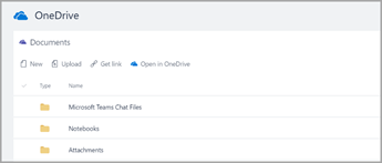 mở trong onedrive