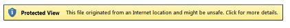 Dạng xem được Bảo vệ dành cho các vị trí trên Internet