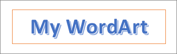 Ví dụ về WordArt