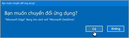 Office 365 chuyển ứng dụng lời nhắc