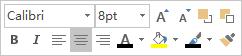 文本编辑浮动工具栏