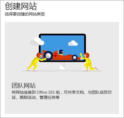 SharePoint Office 365 创建网站