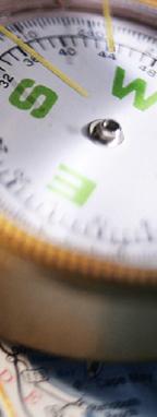 指南针和路线图