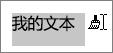 拖动要应用的文本复制格式