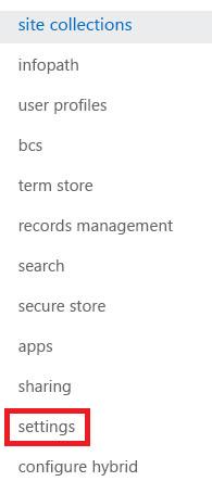 网站集任务窗格的屏幕截图