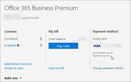 你可能需要具有按年承诺,才能购买附加许可证。