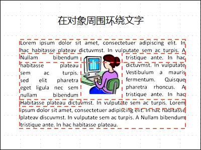 幻灯片,其中对象已插入并且文本框已显示,文字已完成。