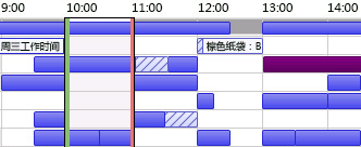 Outlook 闲/忙网格