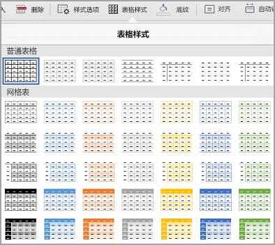 iPad 表格模板库