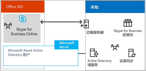 下载此海报以了解有关 Skype for Business 混合选项的更多信息