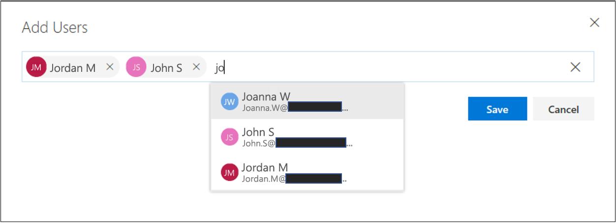 合规性管理器 - 提供角色 - 添加用户