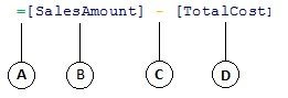 计算列公式