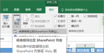 导出到 Excel 突出显示中的 SharePoint 链接