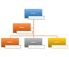 姓名和职务组织结构图 SmartArt 图形布局