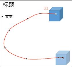 """在""""编辑点""""模式中自定义路径动画"""