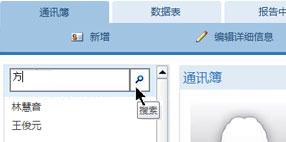Web 数据库中的搜索文本框
