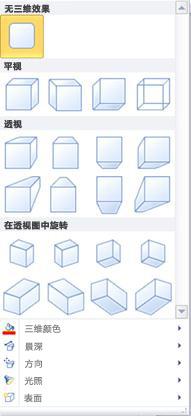 Publisher 2010 中的艺术字三维效果