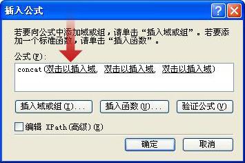 双击以插入将作为表单名称的一部分的第一个域