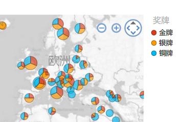 按照您需要的方式排序的地图可视化效果