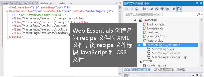 JavaScript 和 CSS 脚本文件的屏幕截图