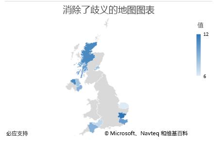 Excel 地图图表非模糊数据图表