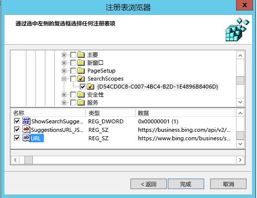 IE11 GPCM 搜索范围 2