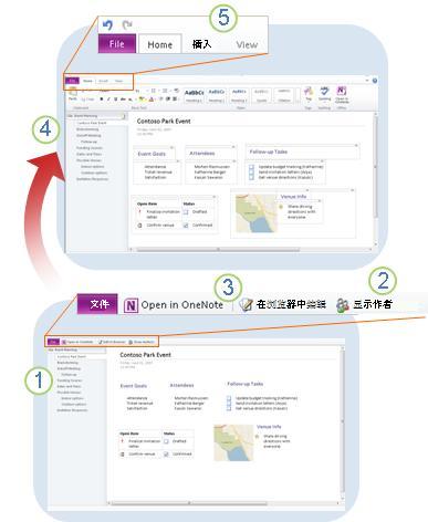 OneNote Web App 概览
