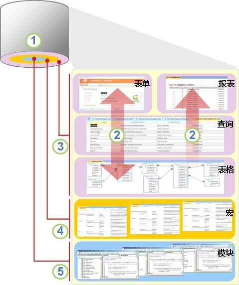 Access 组件和用户的概述