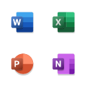 Word、Excel、PowerPoint 和 OneNote 应用