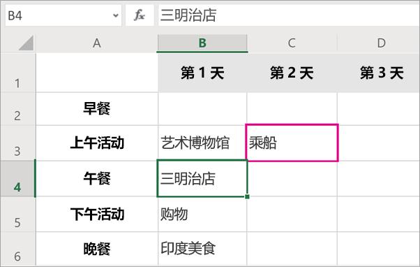 实时编辑时, 你可以查看文件中的人员。