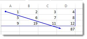 追踪引用单元格