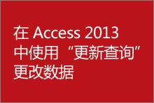 在 Access 2013 中使用更新查询更改数据