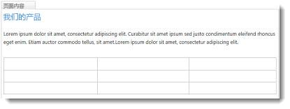 SharePoint Online 网站上的表格