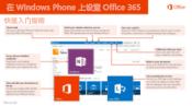 在 Windows Phone 上设置 Office 365 快速入门指南
