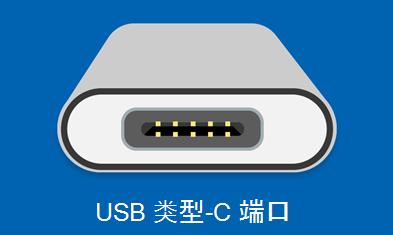 USB 类型 C 端口