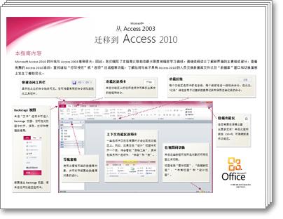 Access 2010 迁移指南的缩略图