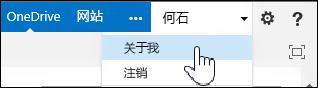 """在 SharePoint 中选择""""描述""""页面"""
