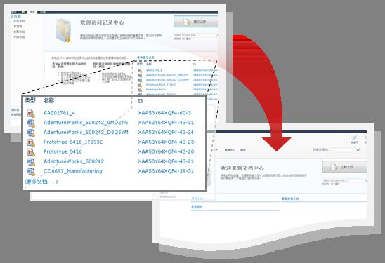 使用文档 ID 跟踪项目