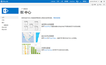 Business Intelligence 网站模板