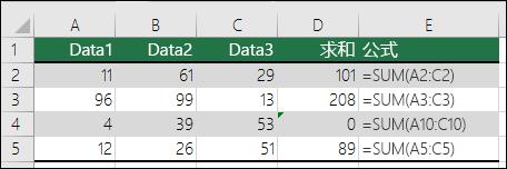 某公式与其相邻公式的模式不匹配时,Excel 将显示错误