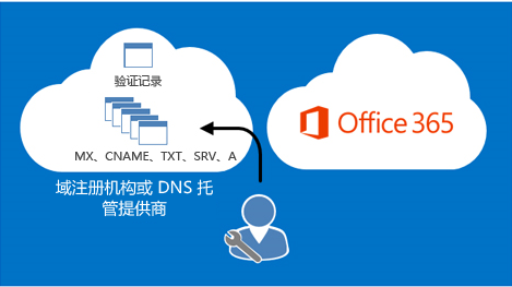 DNS 记录由你管理。
