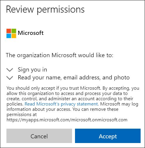 OneDrive 外部共享权限窗口。