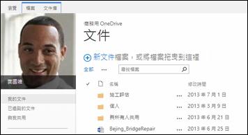 SharePoint 2013 商務用 OneDrive