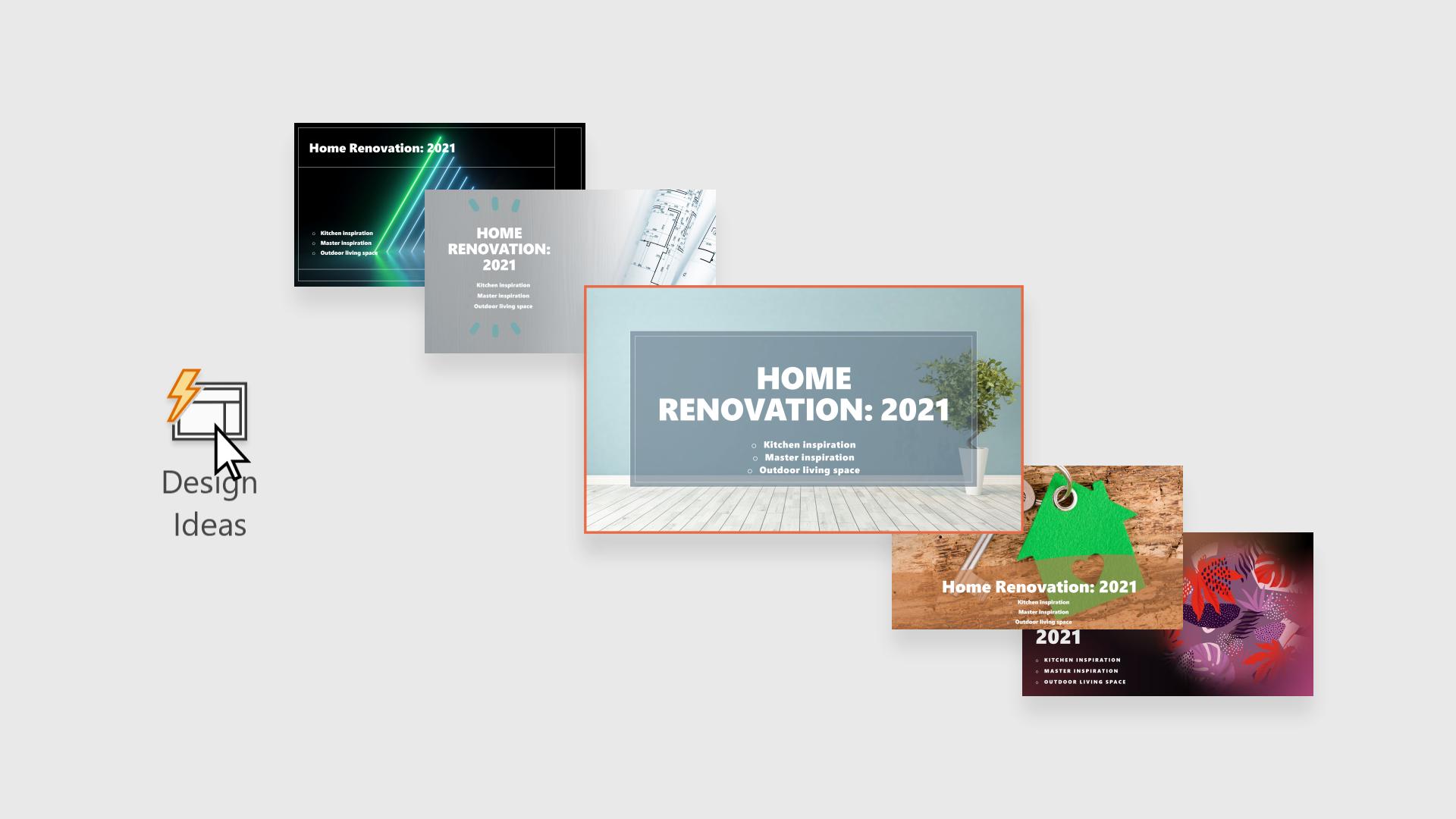 PowerPoint 設計工具