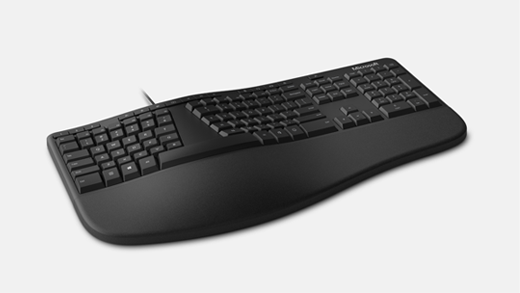 Microsoft 人體工學鍵盤