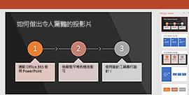 PowerPoint 設計工具功能
