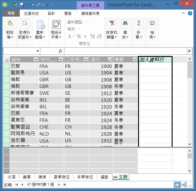 使用 [加入資料行] 以使用 DAX 建立計算欄位