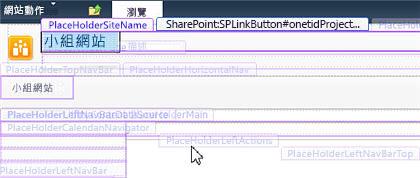 主版頁面內容版面配置區