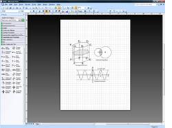 用於 Microsoft Office Visio 2007 的教學圖形