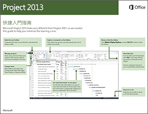Project 2013 快速入門指南